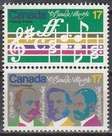Canada - MUSIC 1980 MNH - 1952-.... Reign Of Elizabeth II