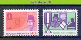 Mgm1376 NATIONALE DAG VAN DE OPVOEDING NATIONAL DAY OF UPBRINGING Ki Hadjar Dewantara INDONESIA 1989 PF/MNH - Kindertijd & Jeugd