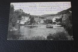 PORT-DIEU-la Dordogne Et Pile De L'ancien Pont- - France