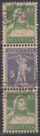 SCHWEIZ S 12, Gestempelt, Tellknabe Und Tell 1924 - Zusammendrucke