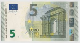 016 - BILLET 5 EURO 2013 NEUF Signature Mario DRAGHI YA 1084803281 - Imp Y002B1 - EURO