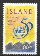 Islande 1995 N°786 Neuf ONU - 1944-... Republik