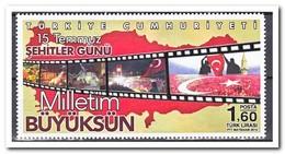 Turkijë 2016, Postfris MNH, 15th Of July Day Of The Milliyet Büyüksuyun ( See Right Corner Not 100% ) - Ongebruikt