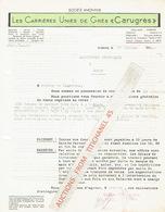 """ANDENNE 1944 - Les Carrières Unies De Grès """"CARUGRES"""" - Belgique"""