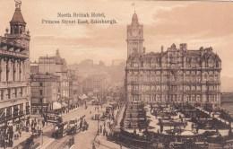 North British Hotel, Princes Street East, Edinburgh, Scotland - Vintage PC Unused - Midlothian/ Edinburgh