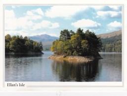 Ellan's Isle, Loch Katrine, Trossachs National Park, Scotland - Posted 2003 With Stamp - Scotland