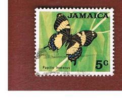 GIAMAICA (JAMAICA)  - SG 311 -  1970  BUTTERFLIES: PAPILIO HOMERUS  - USED° - Giamaica (1962-...)