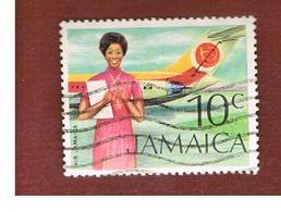 GIAMAICA (JAMAICA)  - SG 352 -  1972  AIR JAMAICA  - USED° - Giamaica (1962-...)