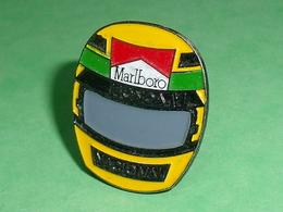 Pin's / Automobile : F1 , Casque , Honda , Marlboro     TB1EE - F1