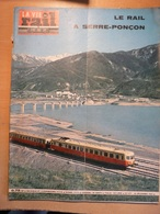 Vie Du Rail 877 1962 Viaduc Montigny Boujeailles  Travemunde Gare Hazebrouck Mont Dore Serre Poncon Savines Bardoneche - Trains