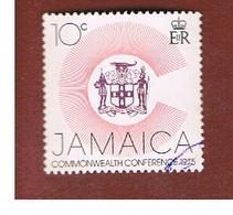 GIAMAICA (JAMAICA)  - SG 398 -  1975   ARMS              - USED° - Giamaica (1962-...)