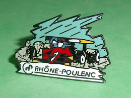 Pin's / Automobile : F1 , Rhone Poulenc    TB1EE - F1