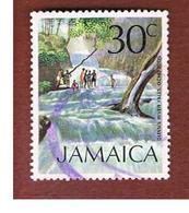 GIAMAICA (JAMAICA)  - SG 355 -  1972   DUNN' S RIVER FALLS              - USED° - Giamaica (1962-...)
