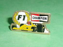 Pin's / Automobile : F1 , Champion   TB1EE - F1