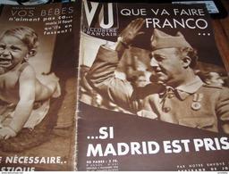 ESPAGNE FRANCO /FLANDIN LOUIS ROLLIN / PARIS ECOLE HOTELLIERE  /VU - 1900 - 1949