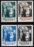 Série De 4 Timbres-poste Gommés Neufs** - Consécration D'Eugenio Pacelli - N° 98-99-100-101 (Yvert) - Vatican 1943 - Neufs