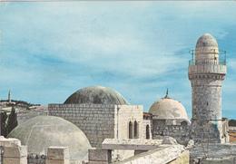 ISRAEL ,JERUSALEM,yéroushalaim,MONT SION,ZION,TIMBRE ET TAMPON 30 MAI 1965 - Israele