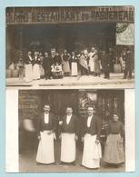 2 BELLES C.P.A Photos - MARSEILLE - GRAND RESTAURANT DU RAGUENEAU - 15 -17 Boulevard Dugommier à Marseille - CARTE PHOTO - Autres