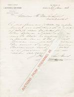 ANTWERPEN 1882 - J. DE WINTER & LEON STORMS -Rizerie à Vapeur - Belgique