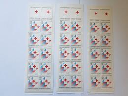 Lot De 13 Carnets Croix Rouge De 10 Timbres Chacun France Neuf , Non Pliés Sans Charnière - Libretti