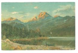 1900's, Norway, Telemark, Mountain View Art Pc. Printed Pc, Unused. - Norway