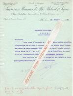 Lettre De 1935 - ATH - Sucreries Réunies D'Ath, Beloeil & Ligne - Belgique