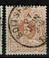 28  Obl Boitsfort  + 8 - 1869-1888 Lion Couché