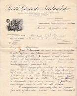 1901 - SOCIÉTÉ GÉNÉRALE NÉERLANDAISE - Direction Pour La France - Clause Pour MADAGASCAR - 2 Scans - Documents Historiques