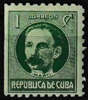 Timbre-poste Gommé Neuf** - Politicien José Marti -  République De Cuba 1930 - Neufs