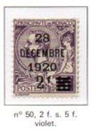 MONACO N°50 - NEUF * - Monaco