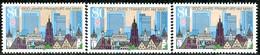 A12-31-7) BRD - 3x Mi 1721 - ** Postfrisch (A) - 80Pf      1200 Jahre Frankfurt/Main - [7] République Fédérale