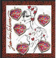 France 2006 Bloc Feuillet N° 93 Neuf Saint Valentin Jean Louis Scherrer à La Faciale - Sheetlets