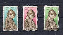 Vaticano - 1955 - V° Centenario Della Morte Di Niccolò V. - Serie Completa - 3 Valori - Nuovi - (FDC11576) - Unused Stamps