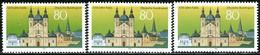 A12-31-8) BRD - 3x Mi 1722 - ** Postfrisch (B) - 80Pf        1250 Jahre Fulda - [7] République Fédérale