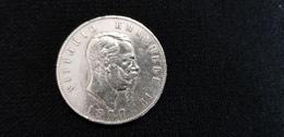ITALIE Pièce Monnaie ITALIENNE 1877 Roi Des Italiens Vittorio Emmanuele II 5 L Lire  Argent Couronne REGNO D'ITALIA - 1861-1878 : Victor Emmanuel II