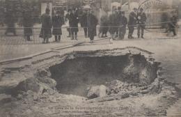 Evènements - Inondations - Paris - Effondrement Chaussée Angles Rues Caumartin Et Saint-Lazare - 1910 - Floods