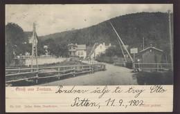 AUSTRIA SAUTERN PITTEN OLD POSTCARD 1902 - Pitten