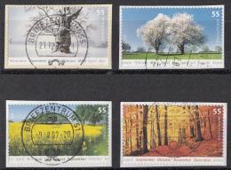 West-Duitsland - 4.750 Zegels - Winter-Frühling-Sommer-Herbst - O - Onafgeweekt/op Fragment - Postzegels