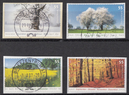 West-Duitsland - 4.750 Zegels - Winter-Frühling-Sommer-Herbst - O - Onafgeweekt/op Fragment - Sellos