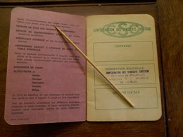 Boekje    Viroux  Terrassier    Confédération Des Syndicats  Chétiens De Belgique - Factures