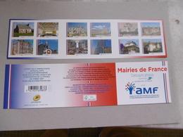 2016    BC 1202  * *  MAIRIES DE FRANCE  NON PLIE - Carnets