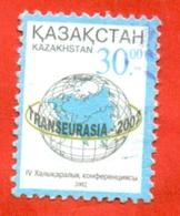 "Kazakhstan 2002.International Conference ""Tanseurasia"". Used Stamps. - Kazakhstan"