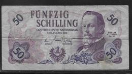 Autriche - 50 Schilling - Pick N° 137 - TB - Autriche
