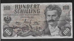 Autriche - 100 Schilling - Pick N° 138 - TB - Autriche