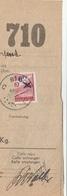 Fragment De Colis-mobilisation - Binche 1939 - Verso Nord-Belge / Jambes - WW II