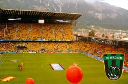 AK Stadion Postkarte Tivoli Neu FC Wacker Innsbruck Tirol Österreich Fußball SSW Football Stadium Postcard Austria Foot - Fussball
