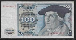 Allemagne - 100 Mark - Pick N° 34d - TTB - [ 7] 1949-… : FRG - Fed. Rep. Of Germany