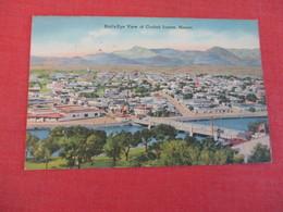 Birds Eye View Ciudad Juarez Mexico Has Stamp  & Cancel    Ref 3048 - Mexique
