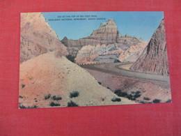 -Big Foot Pass Badlands National Monument  South Dakota     Ref 3048 - Etats-Unis
