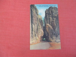Big Tunnel Needles Highway Custer State Park  Black Hills  South Dakota     Ref 3048 - Verenigde Staten